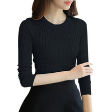 Load image into Gallery viewer, 2018 Autumn Winter Female Solid Sweater High Elastic Turtleneck Fashion Sweater Women Slim Sexy Knitted Pullovers 5 Colors