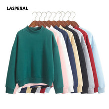 Load image into Gallery viewer, LASPERAL Wholesale Cute Women Hoodies Pullover 9 colors 2019 Autumn Coat Winter Loose Fleece Thick Knit Sweatshirt Female S-3XL