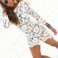 Load image into Gallery viewer, Sexy Summer Women Bathing Suit Lace Crochet Bikini Cover Up Swimwear Beach Dress New Style