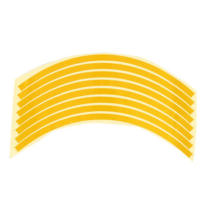 Safety Reflective Warning Strip Tape Car Bumper Reflective Strips Secure Reflector Stickers Decals Car Styling