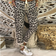 Load image into Gallery viewer, KANCOOLD Pants Womens Casual Leopard Print Ladies Beam Foot Sport Long Pants Joggers Bottoms fashion new pants woman 2018dec31