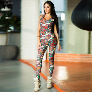 Womail bodysuit Women Summer Casual Backless Sexy Sleeveless Bandage Sport Fitness Jumpsuit Overalls fashion 2019 dropship M1