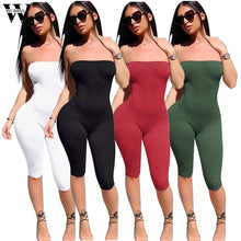 Load image into Gallery viewer, Womail bodysuit Women Summer Fashion Ladies Clubwear Playsuit Bodycon Party Jumpsuit Sleeveless new 2019 dropship M4