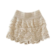 Load image into Gallery viewer, 2019 Summer Shorts For Women Fashion High Waist Lace Shorts Female Hook Flowers Sheath Shorts