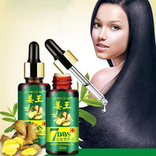 Load image into Gallery viewer, Ginger Essential Oil Hair Growth Essence Hair Loss Liquid 30ml Hair Growth Essence Dense Hair Fast Sunburst Grow TSLM2