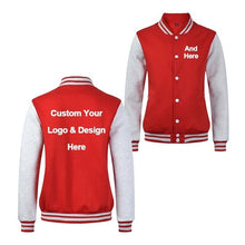 Load image into Gallery viewer, New Arrival Men Custom Logo and Design Stylish Jackets Mens Hoodies Fashion Baseball Jacket Costume Coat High Quality