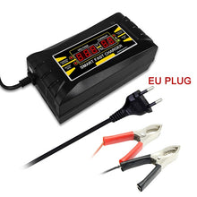 Load image into Gallery viewer, Full Automatic Car Battery Charger 150V-250V To 12V 6A Smart Fast Power Charging Suitable for car motorcycle With EU Plug