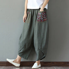Load image into Gallery viewer, Womail Women Pants  Bohemian baggy pants women Cotton Linen Baggy Long Trousers Pants Fashion daily Hot Slimmimg dropship j14