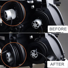 Load image into Gallery viewer, New 2PCS Waterproof LED Silicone Headlamp Dust Cover Dustproof Car Headlights