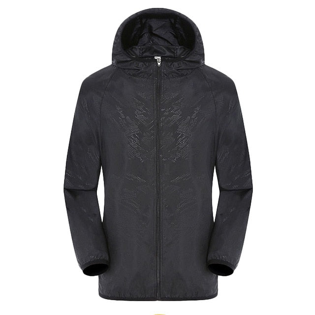 Men's Women Casual Jackets Plus Szie Candy Color Windproof Ultra-Light Rainproof Windbreaker Hooded Coat Jackets damen z0530