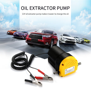 Professional Electric Oil Pump Scavenge Suction Transfer Change Pump 12V Motor Oil Diesel Extractor