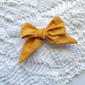 Mustard // Cotton Fabric // Jane Bow