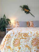 Load image into Gallery viewer, Seconds Sale - The Seasons • Autumn • Single / Double Kantha Throw