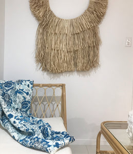 The Biarritz • Natural • extra large 90cm Wall Hanging