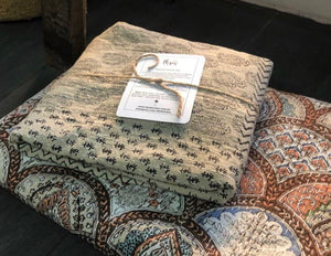 The Patchwork • Natural • Bedding Set - Single / Double with pillowcase
