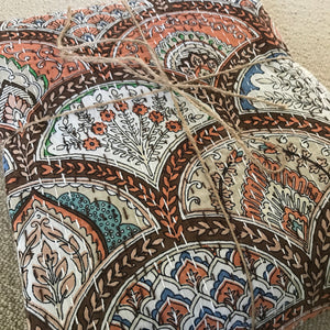 Padded Luxe • The Gypsy • Earth • Queen Bedspread Quilt