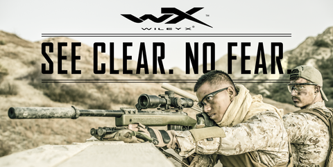 Wiley X Banner - See Clear. No Fear.