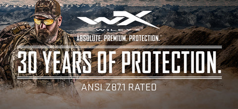 Wiley X Banner - 30 Years Of Protection
