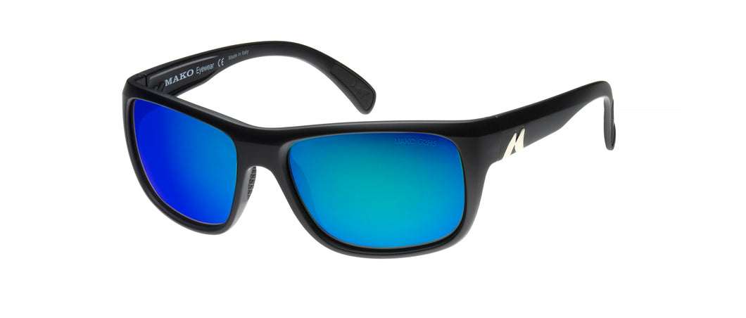 Make Apex Polarized Sunglasses with Blue Mirror Lens