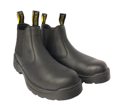 Aussie Steel-Toe Slip-On Boot