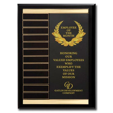 Channel Perpetual Plaque