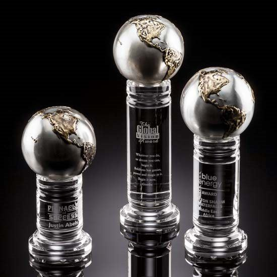 Continental Globe - Cast Metal Optical