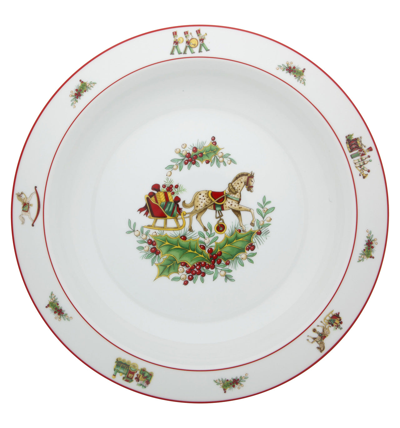 Deep Round Plate - Christmas Magic - Dinnerware - Vista Alegre