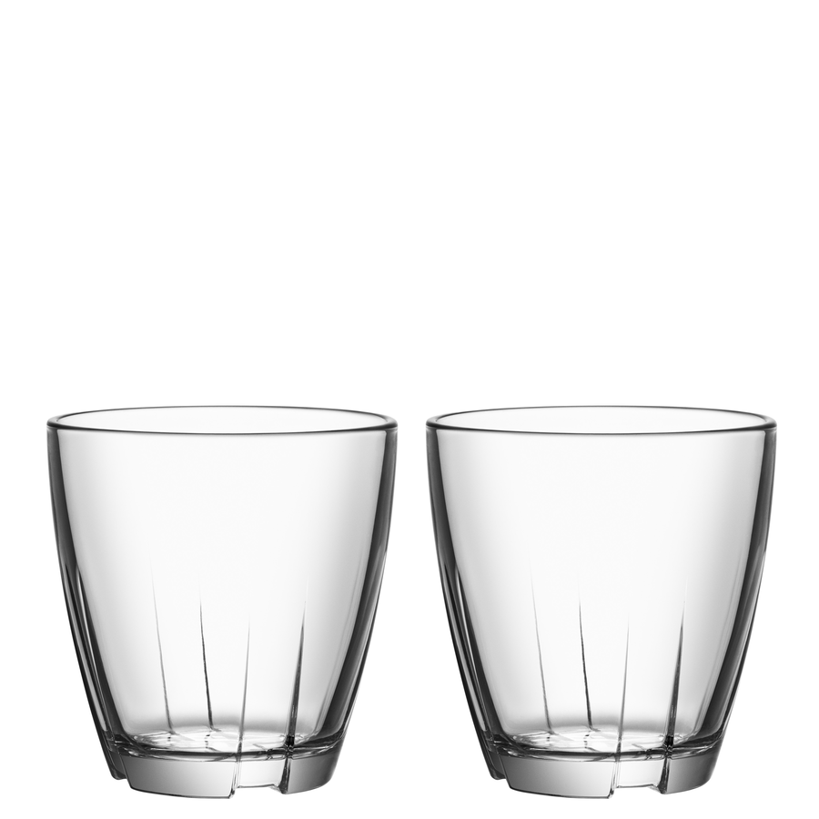 Bruk Tumbler (clear, small, pair)