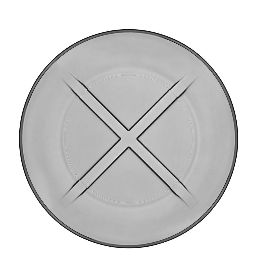 Bruk Salad Plate (smoke grey)