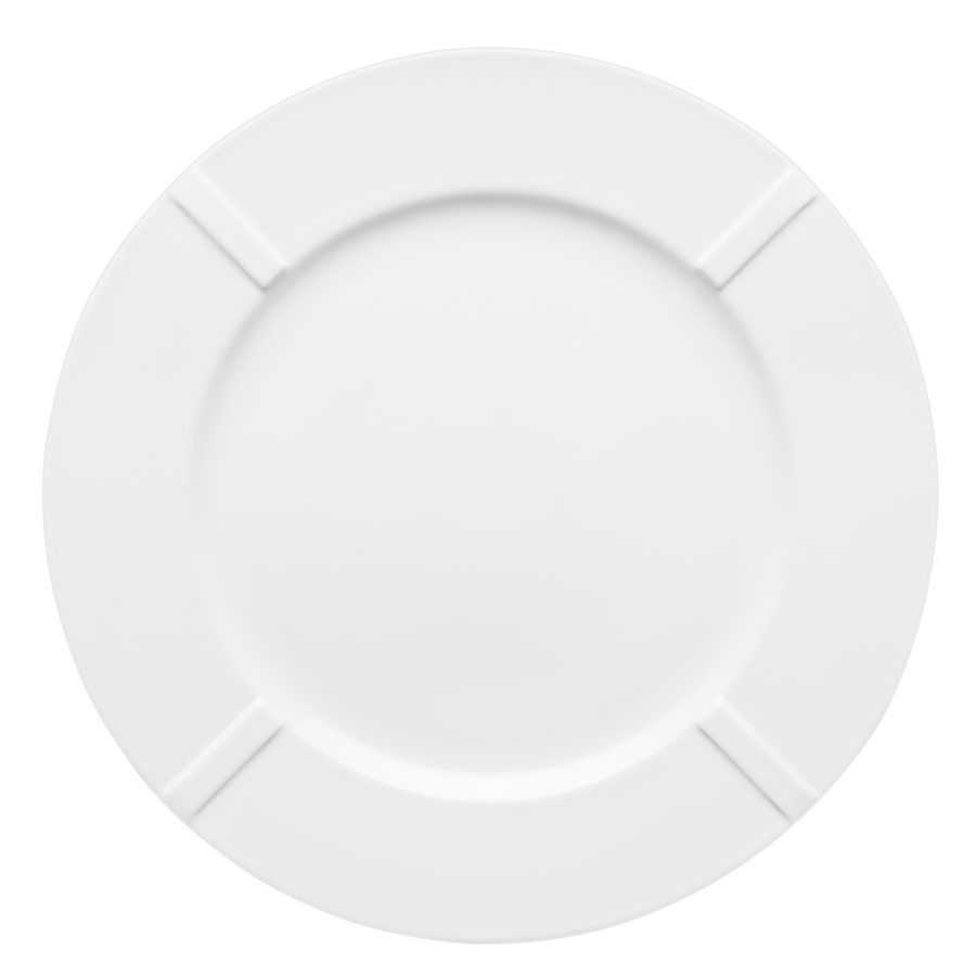 Bruk China Plate (white)