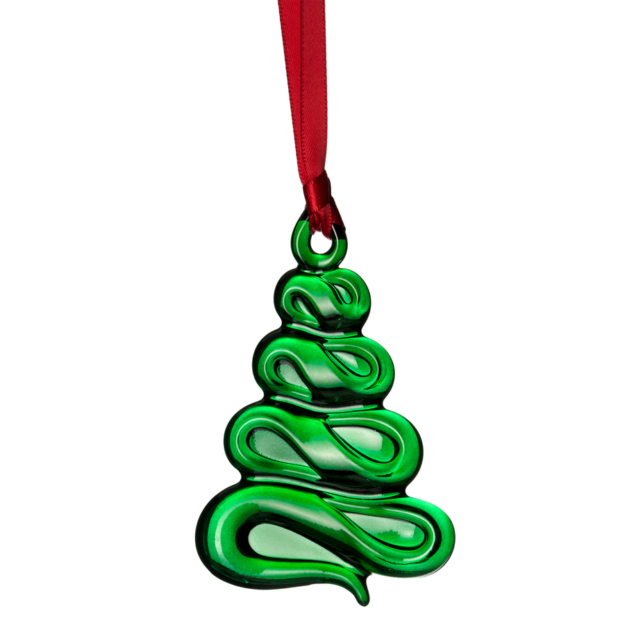 Ornaments Holly Days Christmas Tree (Green)