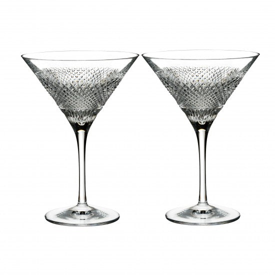 Diamond Line Martini, Pair