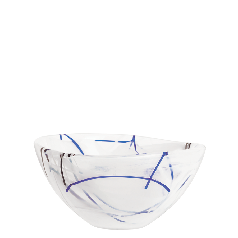 Contrast Bowl, White