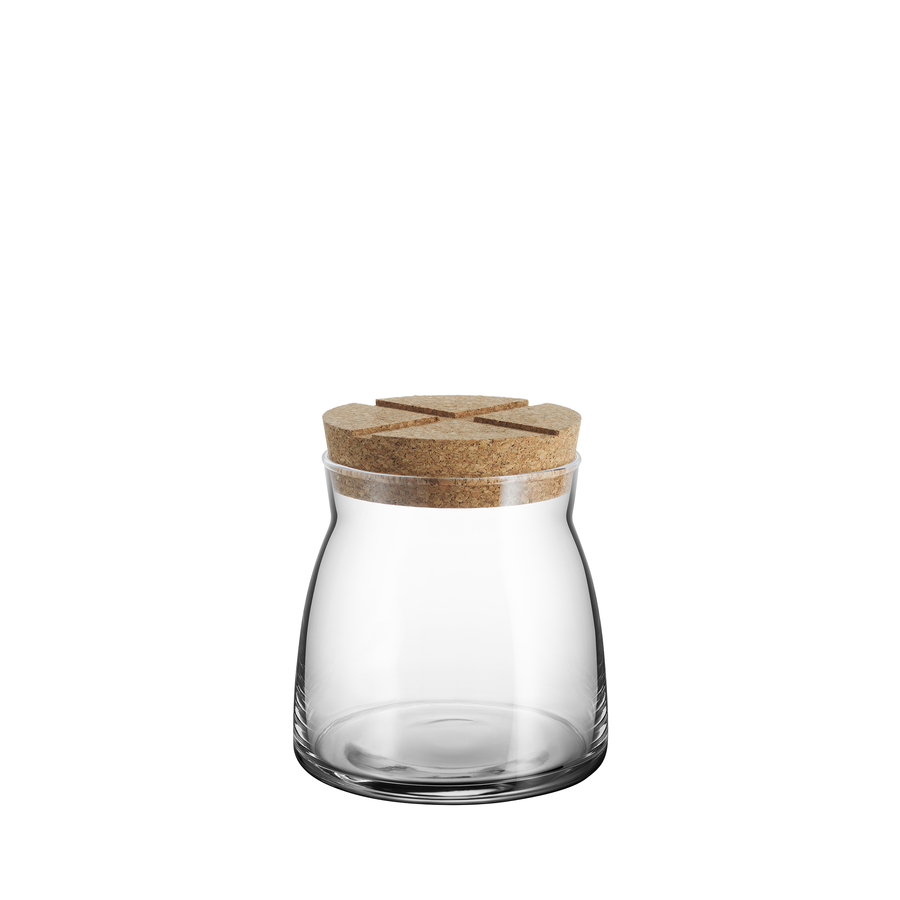 Bruk Jar with Cork (clear, medium)