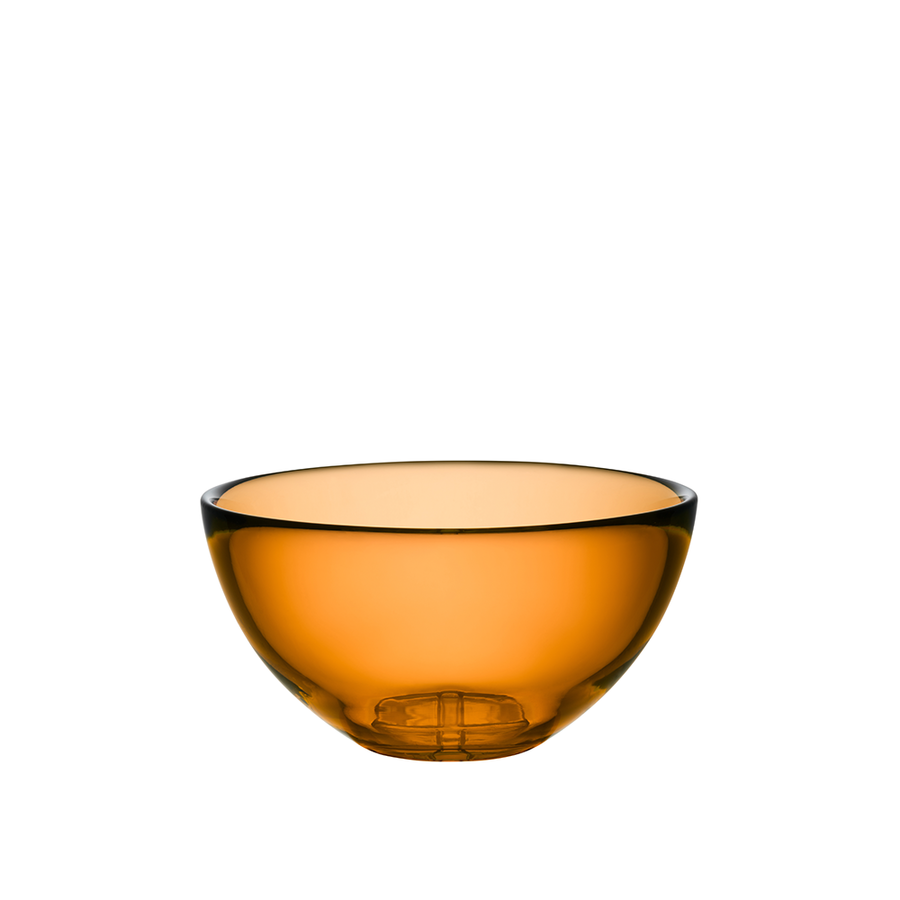 Bruk Bruk Serving Bowl (medium, amber)