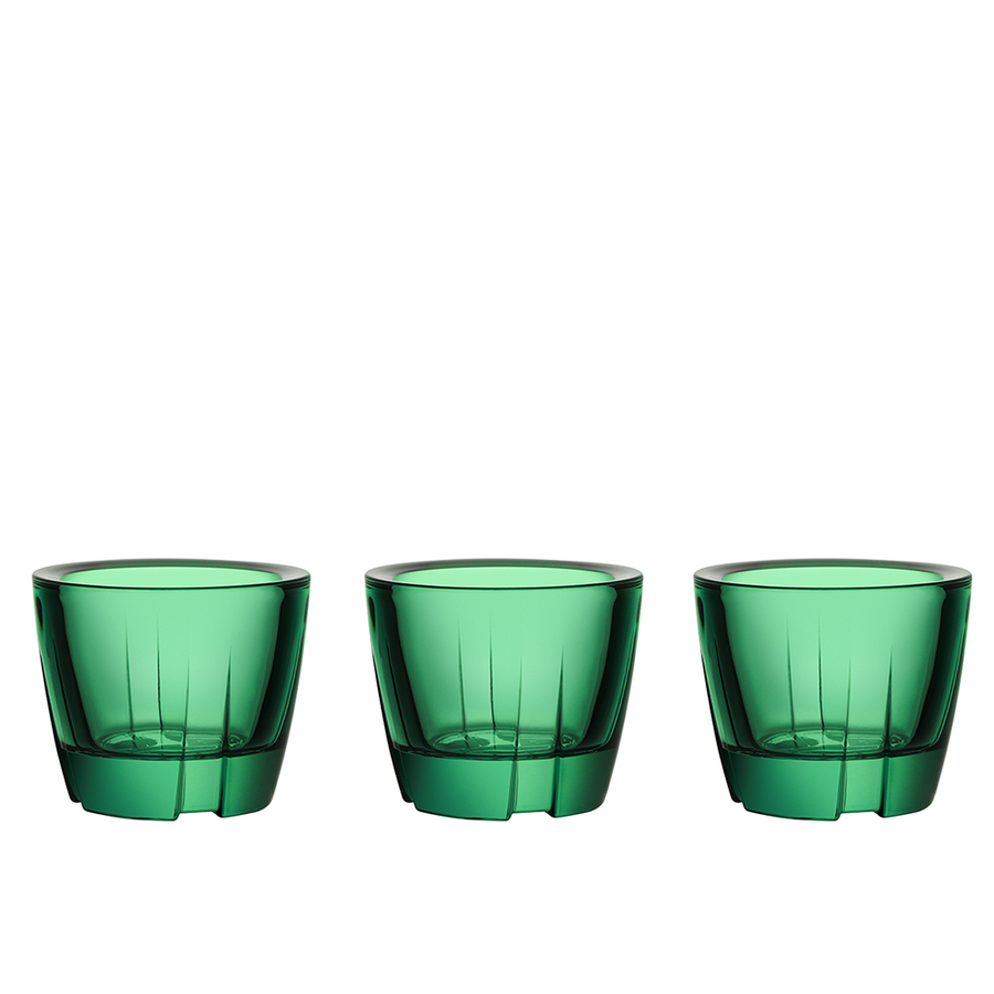 Bruk Votive/Anything Bowl (forest green, set of 3)