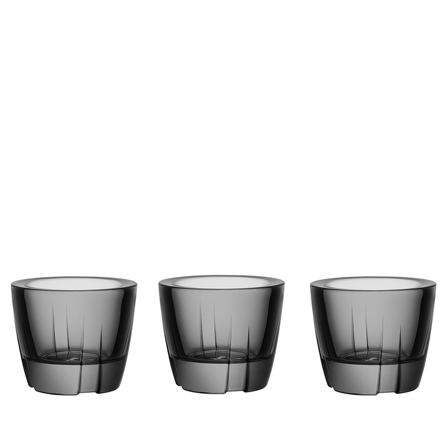 Bruk Votive/Anything Bowl (smoke grey, set of 3)