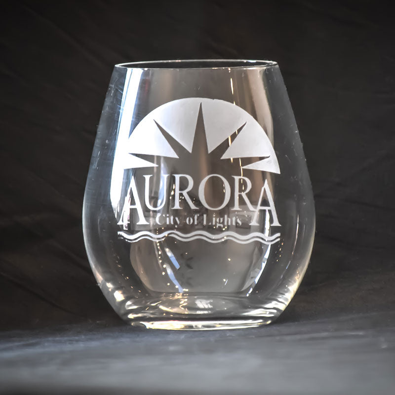 Aurora City of Lights - Stemless Glass