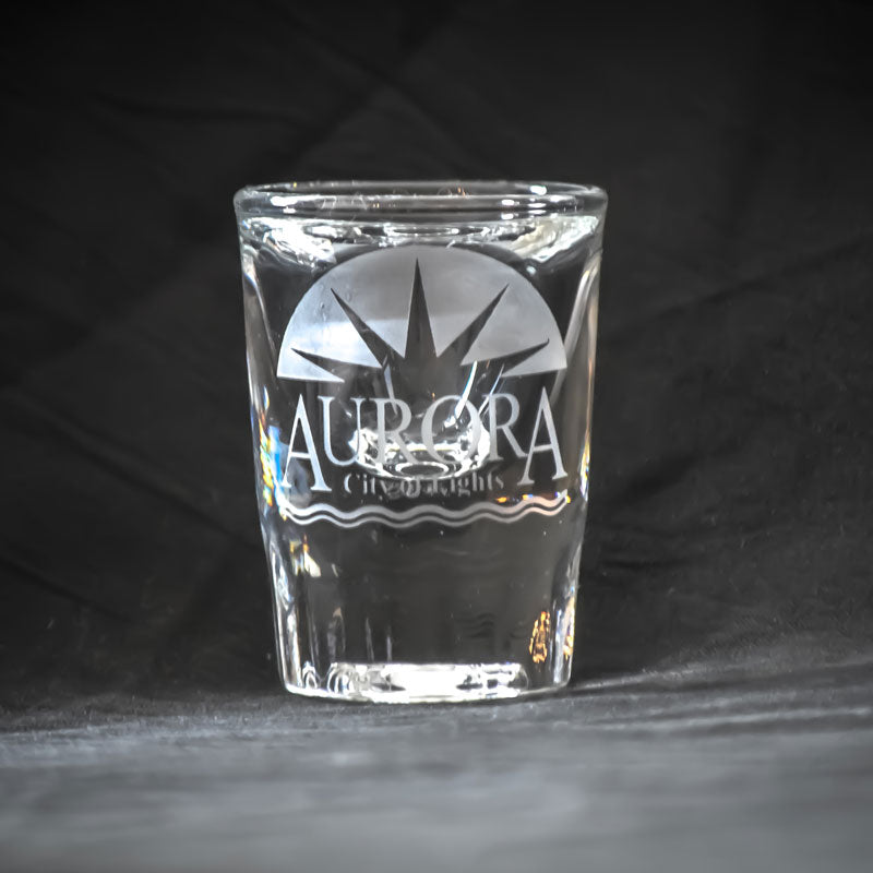 Aurora City of Lights - Shot Glasses - Pair