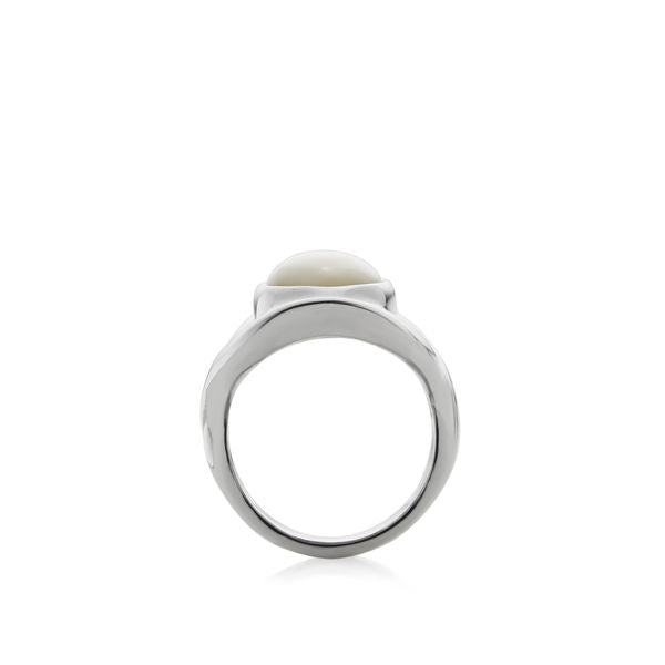 Oval Ring - Mother of Pearl