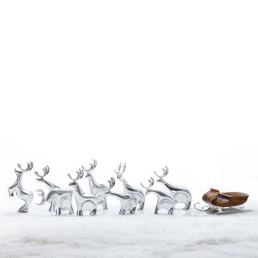 Sleigh with Reindeer