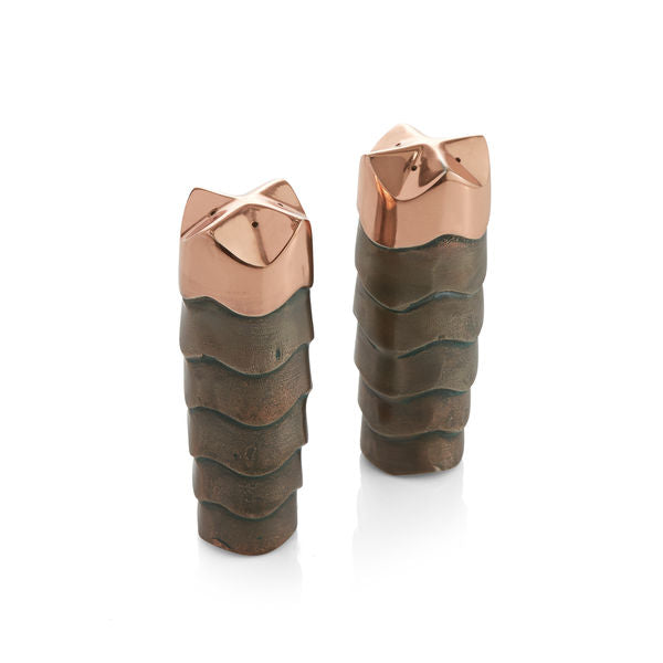 Copper Canyon Salt & Pepper Shakers