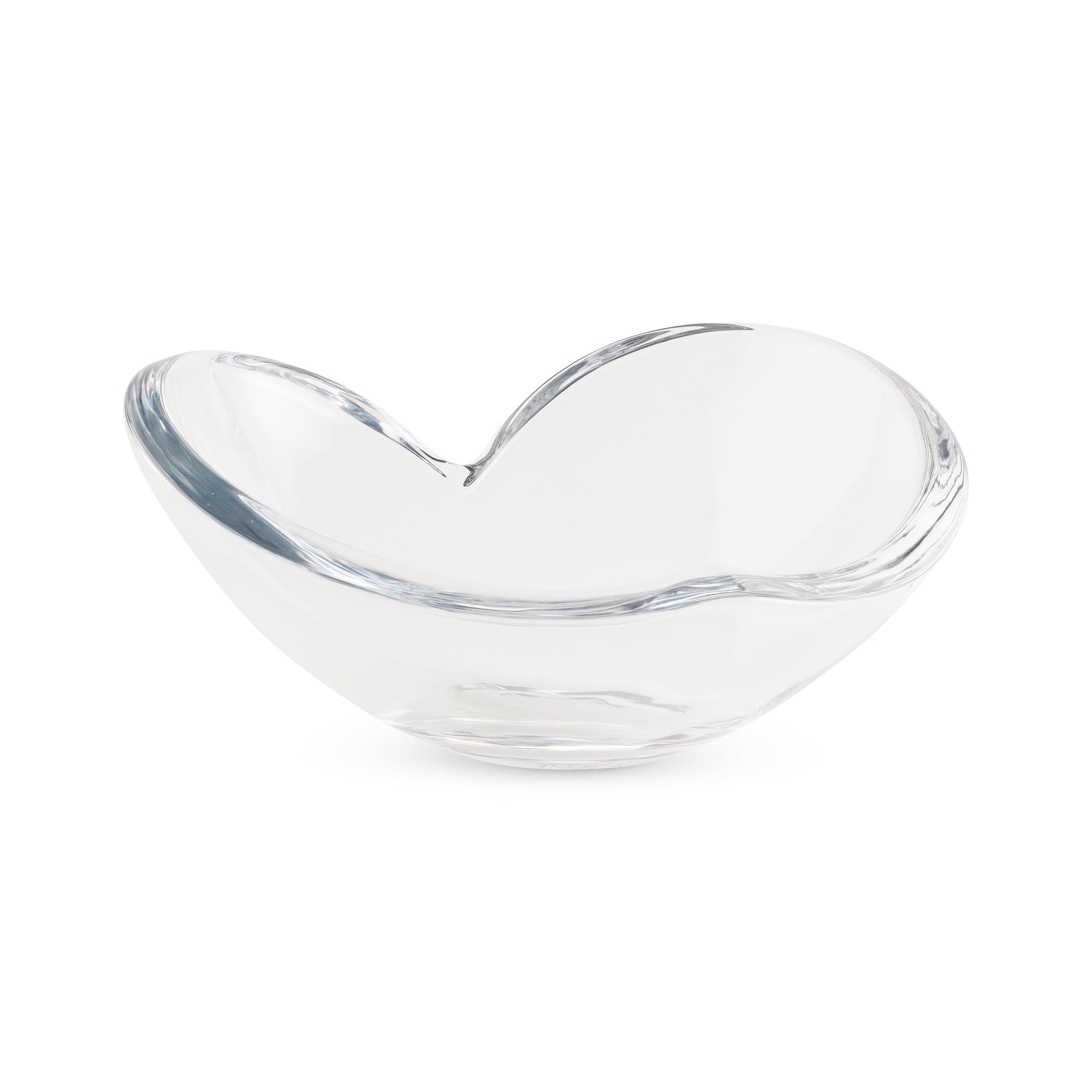 Glass Heart Bowl - Large
