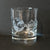 Master's Reserve Whiskey-DOF Glass Sand carved with Fako Association logo