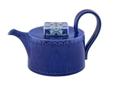 Rua Nova - Tea Pot Indigo Blue