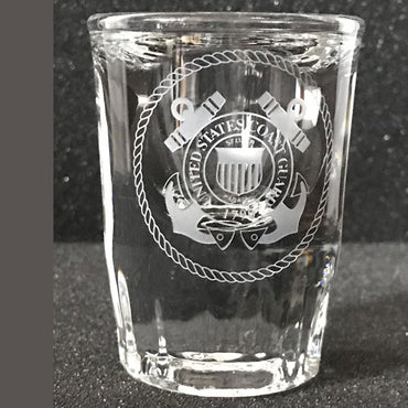 Military Collectible - Shot Glasses - Pair
