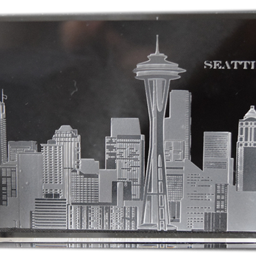 Seattle Skyline Paperweight