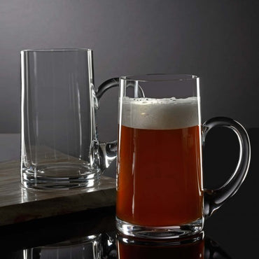 Elegance Beer Mug, Pair