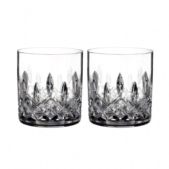 Lismore Connoisseur 5oz Straight Sided Tumbler, Pair
