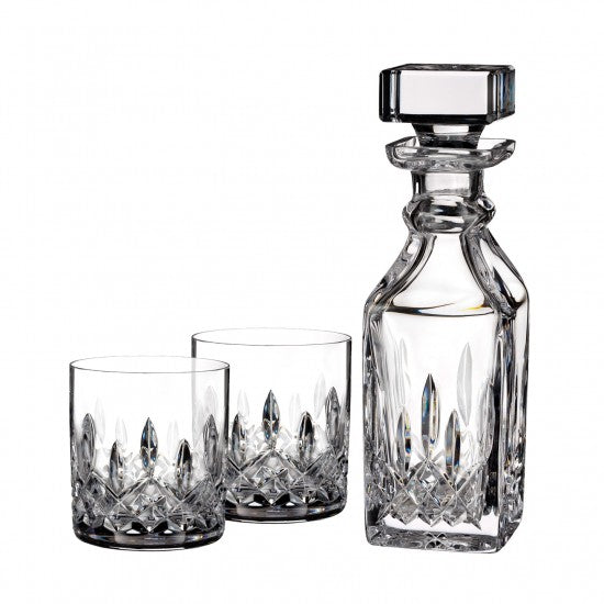 Lismore Connoisseur Square Decanter & Tumbler, Pair